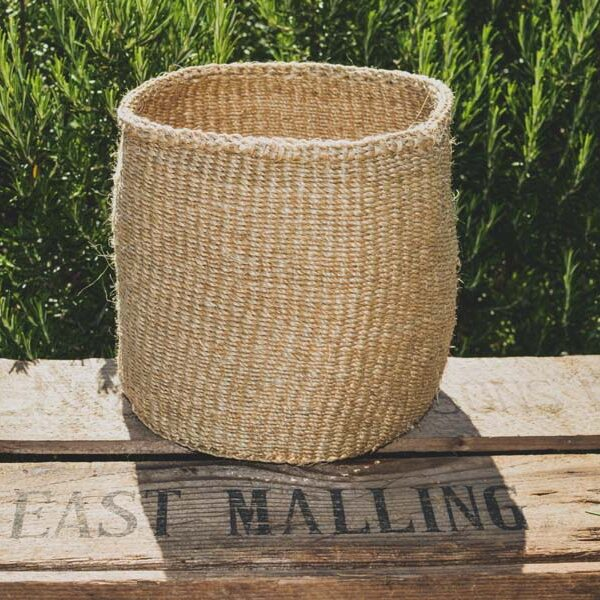 Natural Sisal handwoven basket