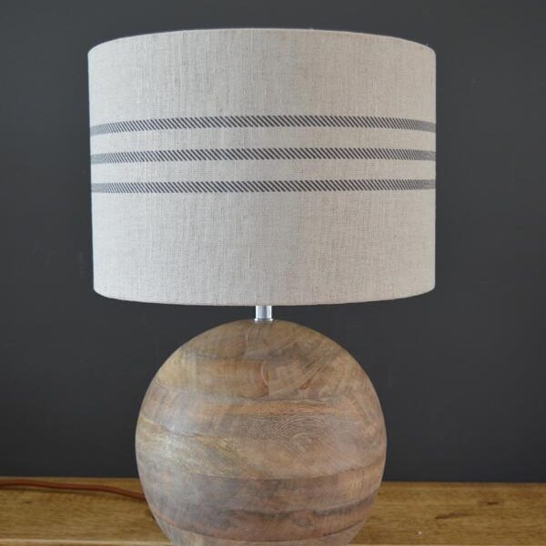 stripe lampshade