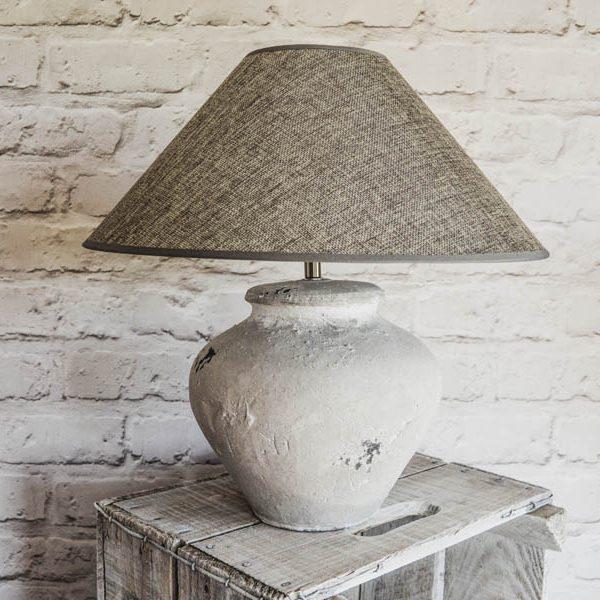 coastal concrete lamp