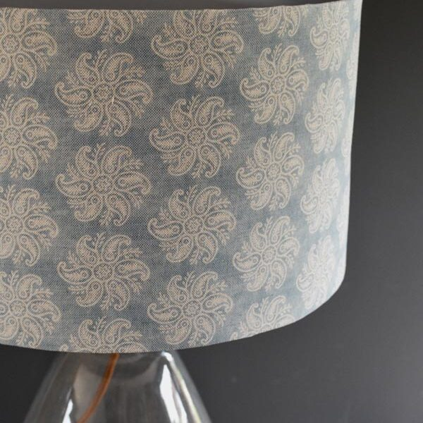 Nordic blue lampshade