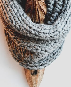 Grey snood