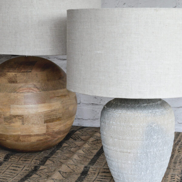 Linen Handmade Lampshade