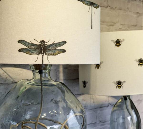 Dragonfly lampshade