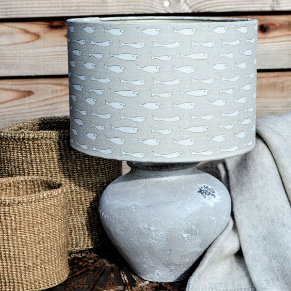 fish lampshade