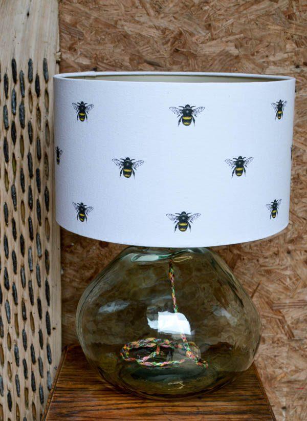 Bumblebee lampshade