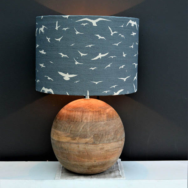 coastal inspired lampshade