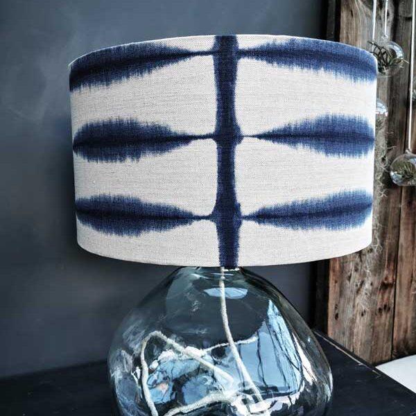 Coastal inspired lampshade