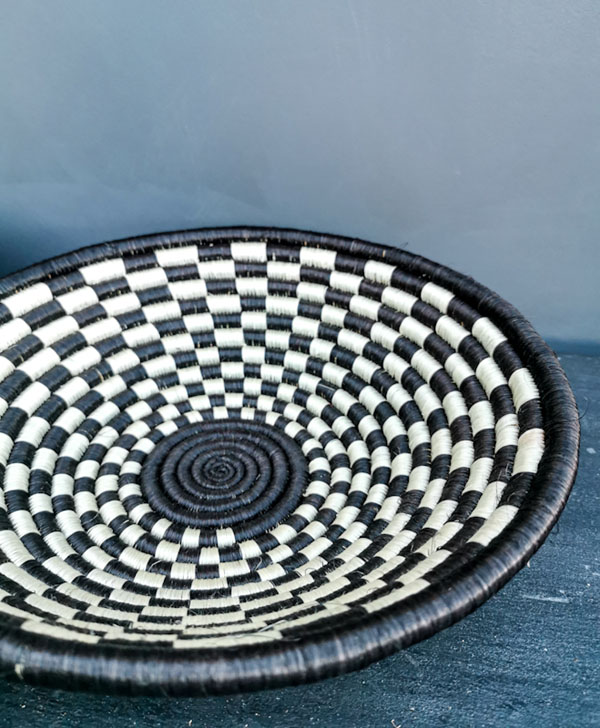 Handwoven bowl