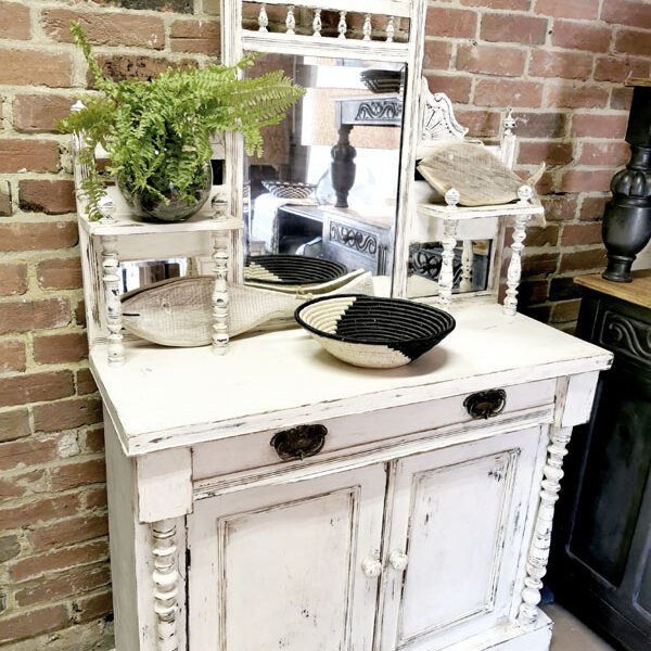 rustic farmhouse cabinet