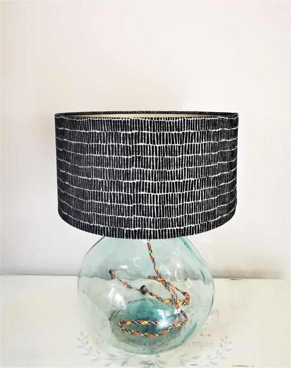 Midnight Blue Lampshade